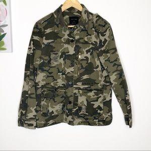 Love Tree   Camo Jacket L